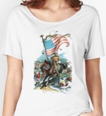 1902 Rough Rider Teddy Roosevelt Women's Relaxed Fit T-Shirt