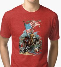 1902 Rough Rider Teddy Roosevelt Tri-blend T-Shirt