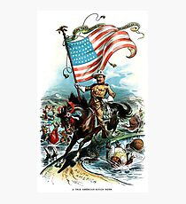 1902 Rough Rider Teddy Roosevelt Photographic Print