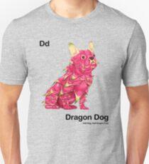 Dd - Dragon Dog // Half Dog, Half Dragon Fruit Unisex T-Shirt