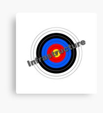 Infrastructure Target Canvas Print