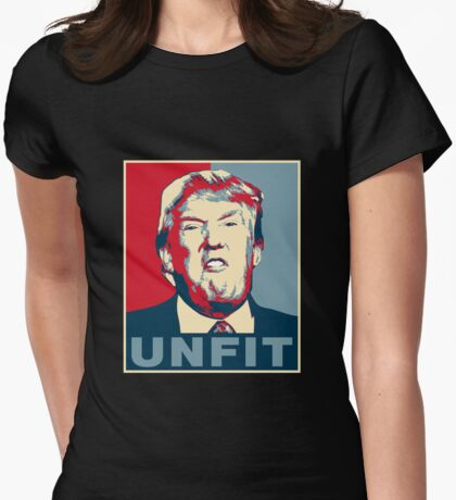 Trump Unfit Poster T-Shirt