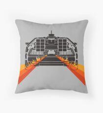 DELOREAN DMC-12 - 88MPH Throw Pillow
