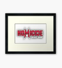 Silicon Valley Homicide Energy Drink Framed Print