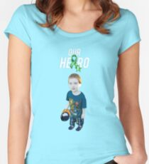 Our Hero - Cerebral Palsy Awareness Women's Fitted Scoop T-Shirt