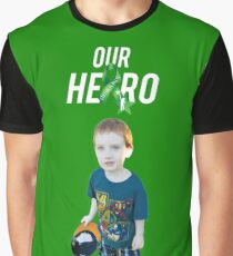 Our Hero - Cerebral Palsy Awareness Graphic T-Shirt