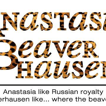 Anastasia Beaverhausen 1 by kridel