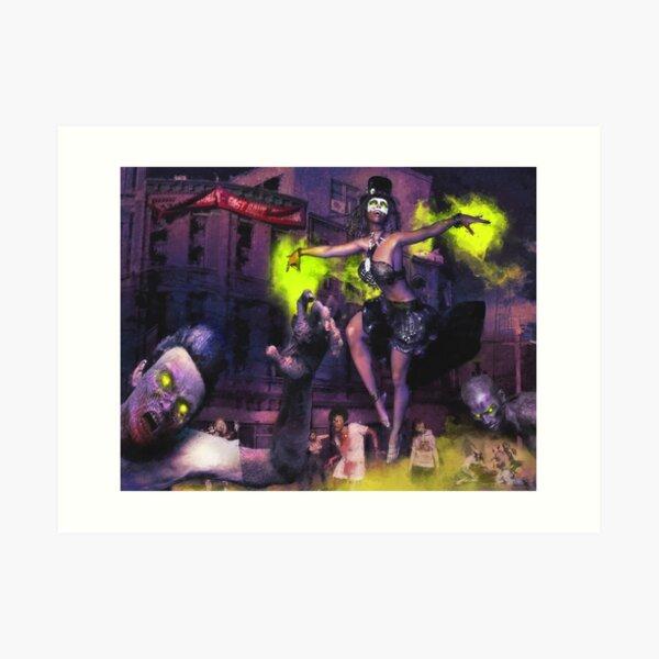 Zombie-Gang Kunstdruck