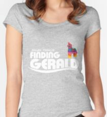 Dillon Francis : Finding Gerald Women's Fitted Scoop T-Shirt