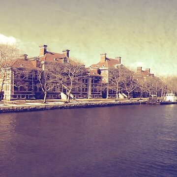 Ellis Island Vintage Photography by rcschmidt