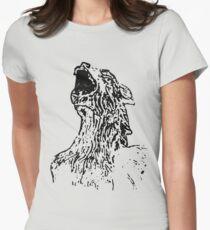 Gargoyle Grunge Women's Fitted T-Shirt