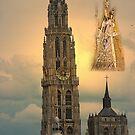 Onze Lieve Vrouwe Toren - Antwerp - Belgium by Gilberte