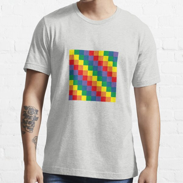 Colorful geometry Essential T-Shirt