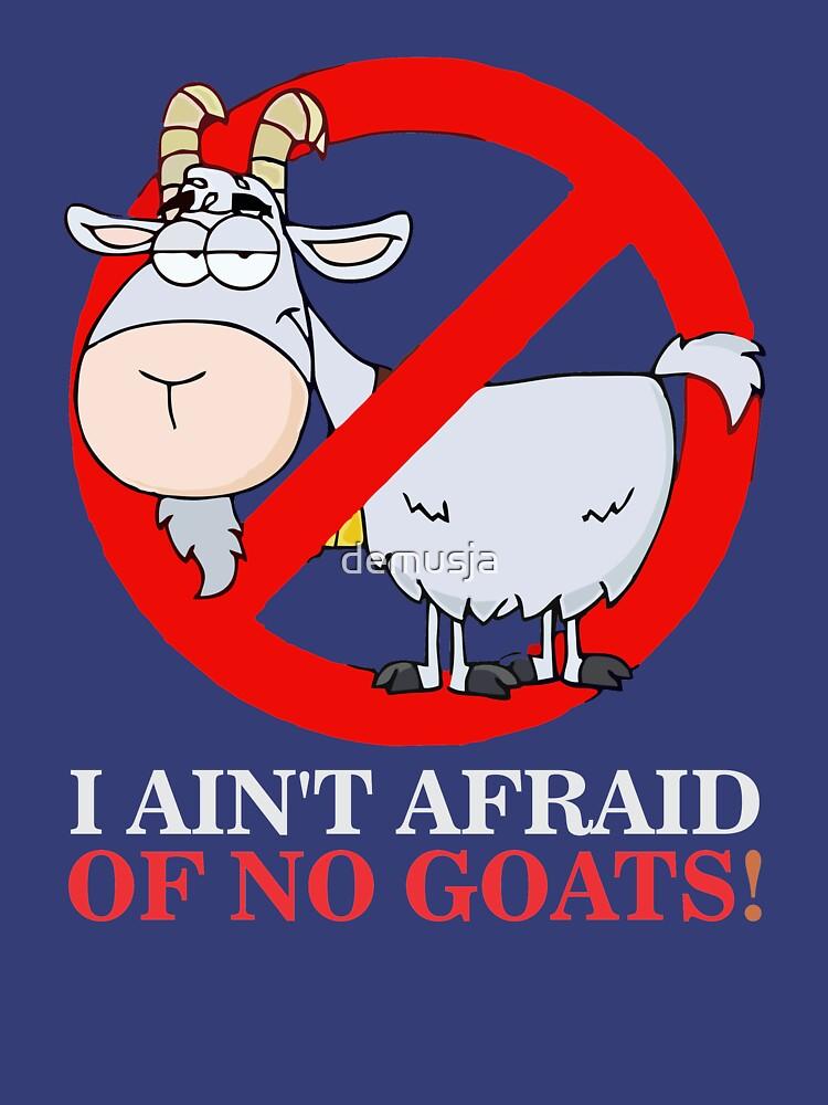 TShirtGifter presents: I Ain't Afraid of No Goats | Classic T-Shirt
