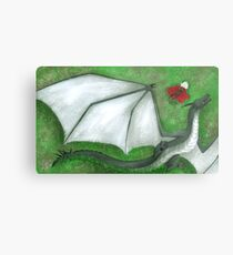 Fearsome Wyvern Indeed  Metal Print