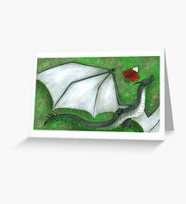 Fearsome Wyvern Indeed  Greeting Card
