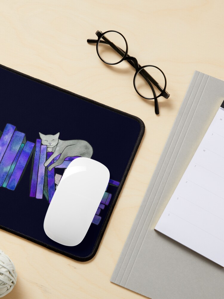 Alternate view of Literary Naps  Mouse Pad