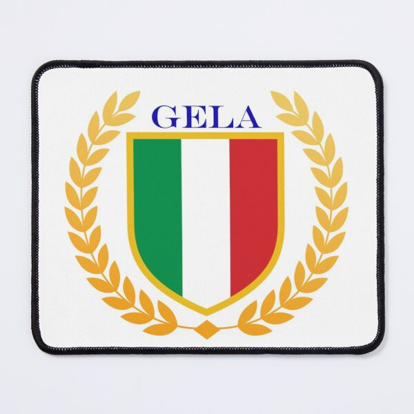 Gela Italy Mouse Pad