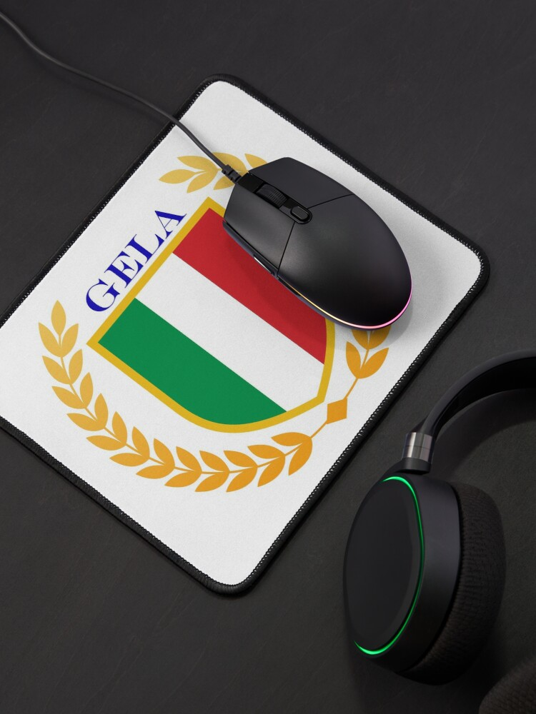 Alternate view of Gela Italy Mouse Pad