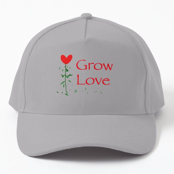 Grow Love | Nature and Romance | A Design of Hope Baseball Cap