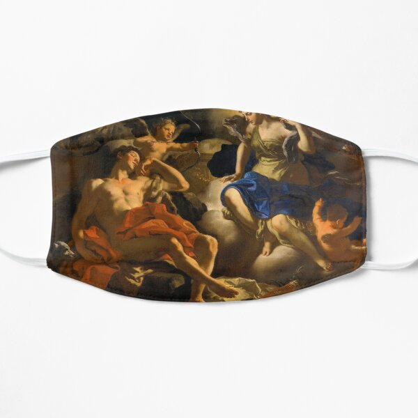 Diana and Endymion by Francesco Solimena (c1710) Flat Mask