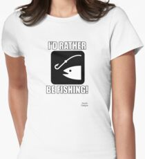 I'd Rather Be Fishing w/ Fish T-Shirt