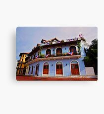 Panama Historical Architecture Canvas Print