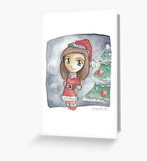 Cute Christmas Grußkarte