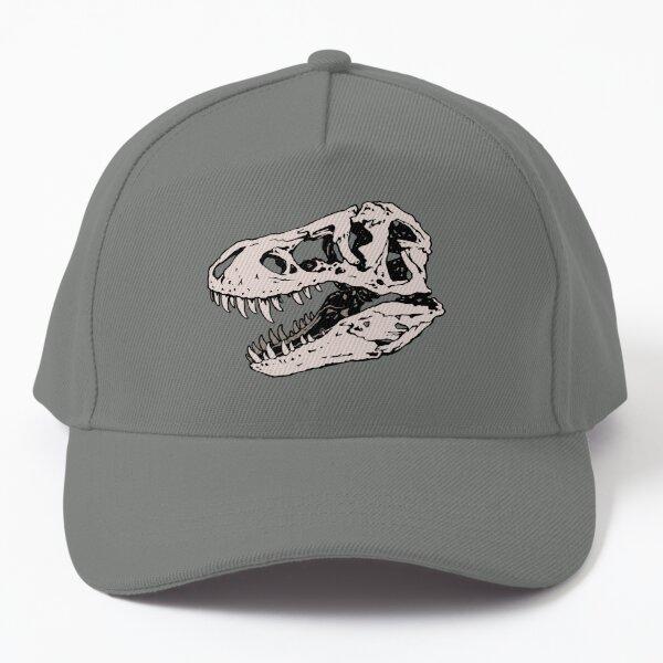 Geo-rex Vortex   Rose Quartz   Dinosaur Skull Fossil Art Baseball Cap