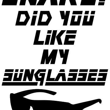Snake! Did you like my Sunglasses (black) by The-Nelo-Angelo