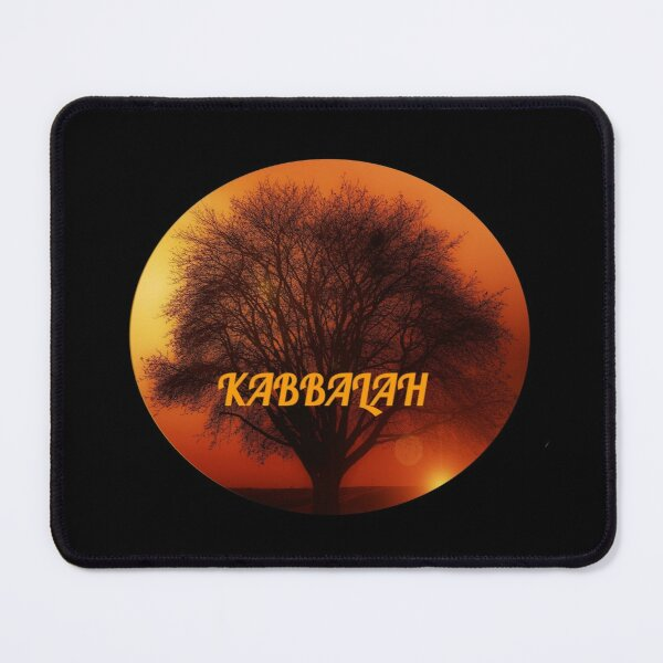 Kabbalah Tree in Sunset ~ Roots and Branches Mouse Pad