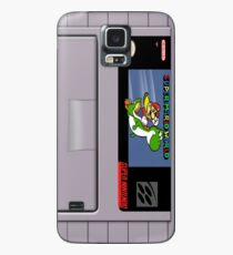 Funda/vinilo para Samsung Galaxy Estuche Super Mario World Cartridge Galaxy