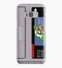 Super Mario World Cartridge Galaxy Case Samsung Galaxy Case/Skin