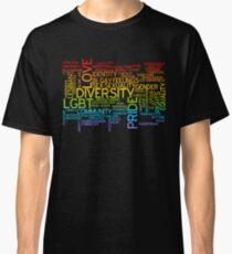 LGBT words cloud Classic T-Shirt