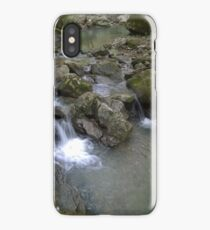Water Flowing In Motion iPhone Case/Skin