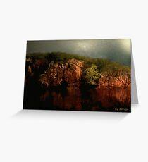 Copper Cliffs Greeting Card