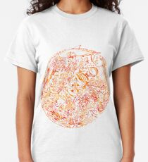 Under The Sea, Red & White Classic T-Shirt