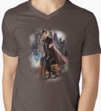 The Eleventh Doctor Men's V-Neck T-Shirt