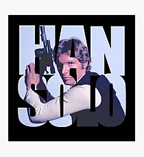 Han Photographic Print