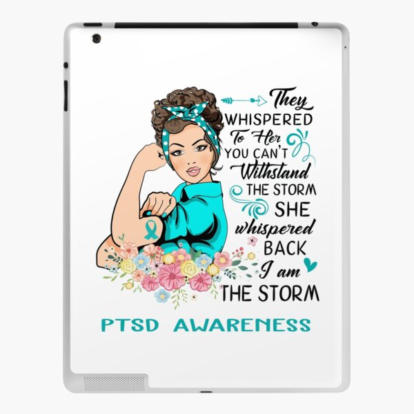 I AM THE STORM PTSD AWARENESS iPad Skin