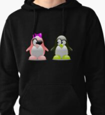 Two Penguins Flirting With Each Other T-Shirt