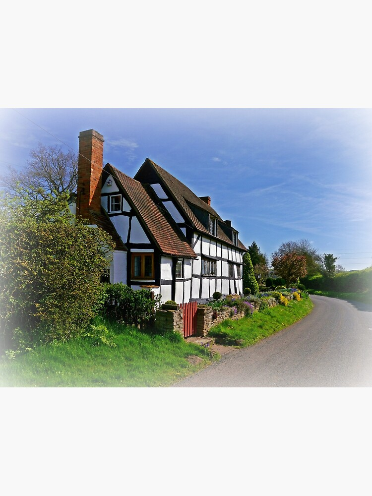 Chocolate Box Cottage (Vignetting Version) by ScenicViewPics