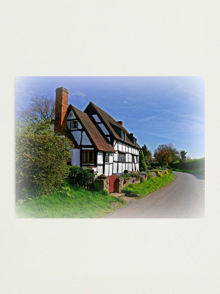 Alternate view of Chocolate Box Cottage (Vignetting Version) Photographic Print