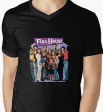 Full House America US Men's V-Neck T-Shirt