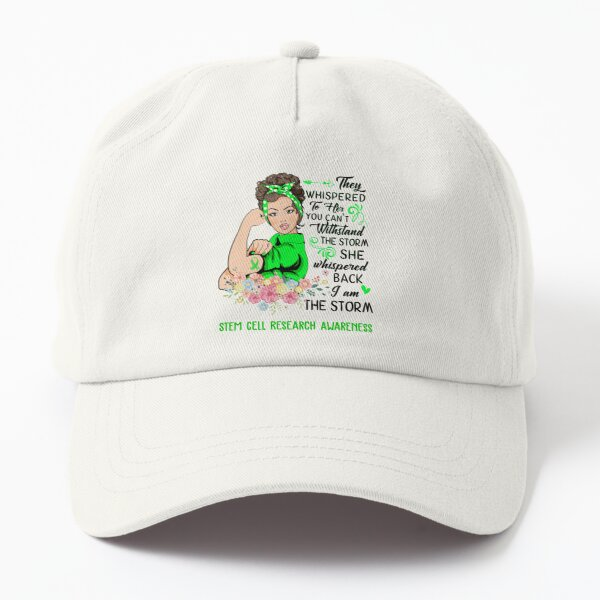 I AM THE STORM STEM CELL RESEARCH AWARENESS Dad Hat