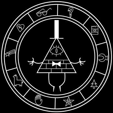 Gravity Falls - The Zodiac by AngelGhosty