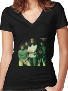 The Guess Who Carl Dixon Bachman Cummings 2  Women's Fitted V-Neck T-Shirt