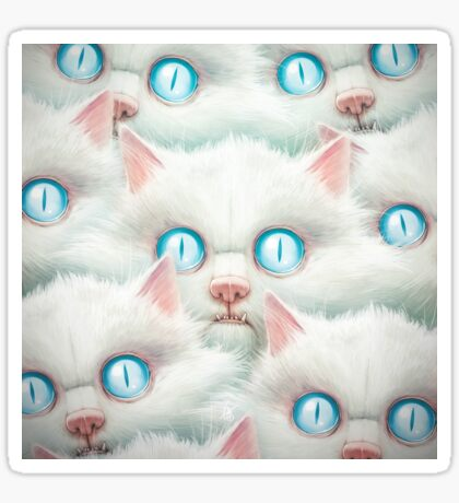 Kittehz I Sticker