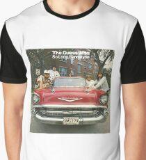 The Guess Who Carl Dixon Bachman Cummings 7 Graphic T-Shirt