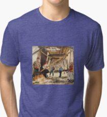 The Guess Who Carl Dixon Bachman Cummings 11 Tri-blend T-Shirt